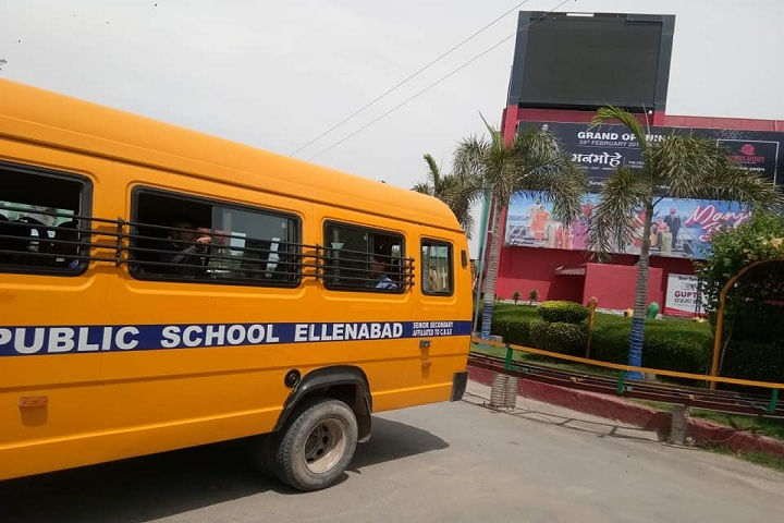 Satluj Public School-Transport
