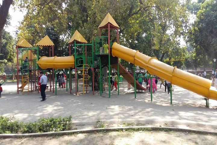 Satyam Modern Public School-Kids Play Area