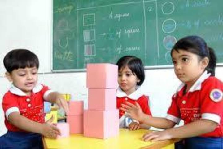 Satyam Modern Public School-Math Event