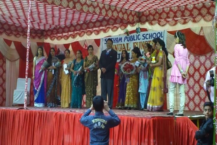 Satyam Modern Public School-Staff