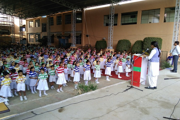 Satyanand Public School-Assembly