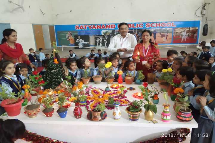 Satyanand Public School-Festival Celebration