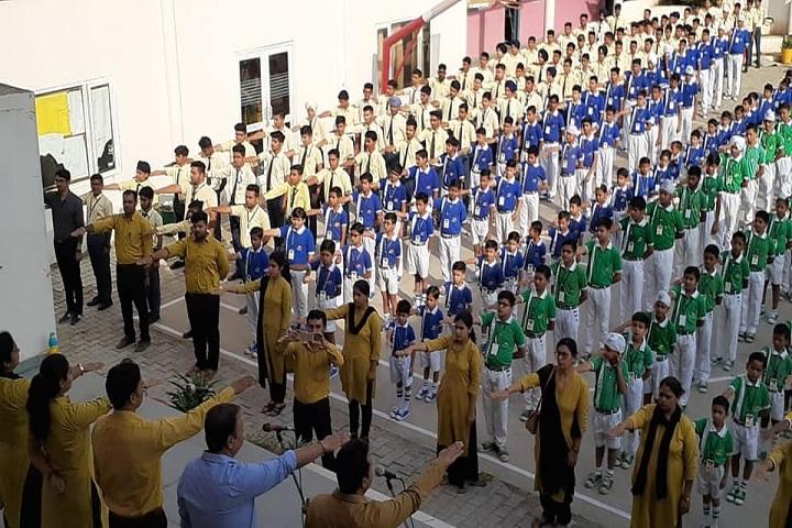 Sawan Public School-Assembly