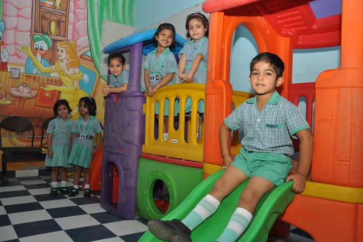 Sawan Public School-Kids Play Area