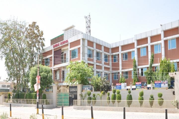 Sawan Public School-School Building