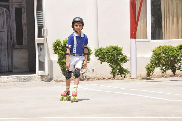 Sawan Public School-Skating