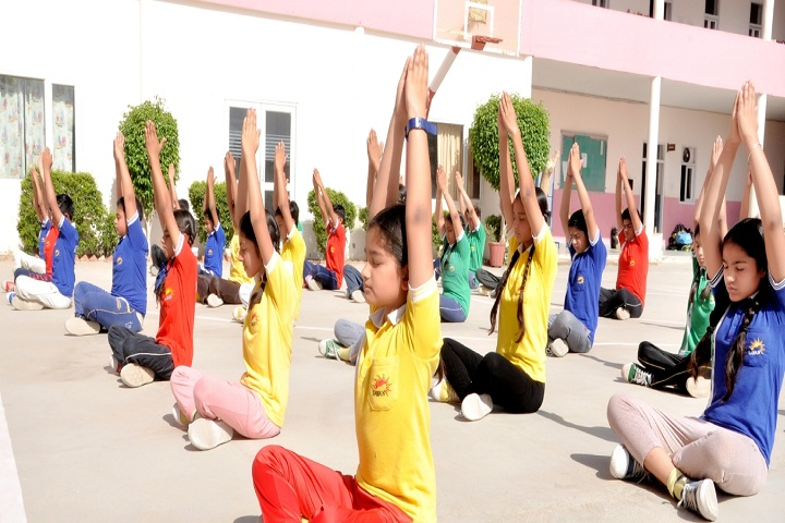 Sawan Public School-Yoga