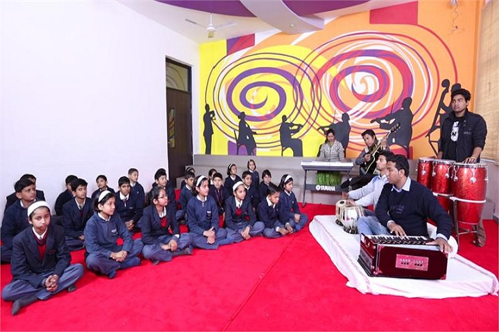 Scholars Global School-Music room
