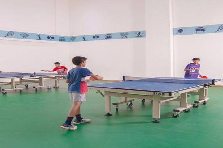 SCJ World Academy-Indoor Games