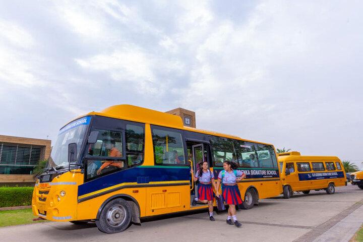 GD Goenka Signature School-Transport