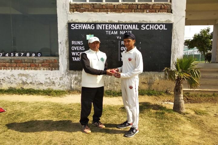 Sehwag International School-student