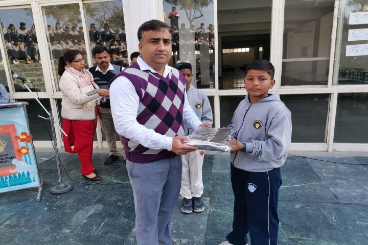 Sehwag International School-Prize distribution