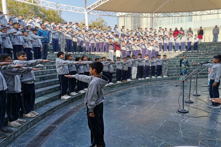Sehwag International School-Assembly
