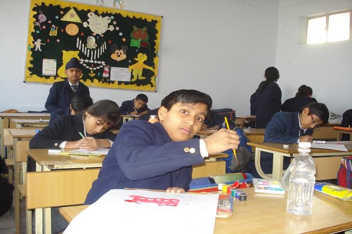 Seth Badri Parsad D A V Centenary Public School-Art and Craft Room