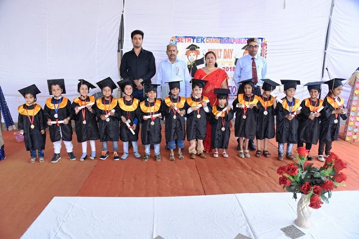 Seth Tek Chand Memorial Public School-Graduation day