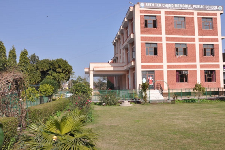 Seth Tek Chand Memorial Public School-School