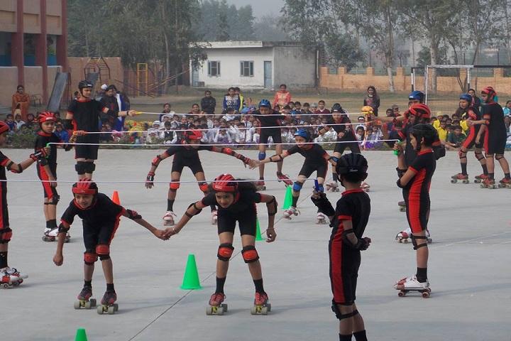 Sewa Samiti Little Angels Convent School-Skating Competition