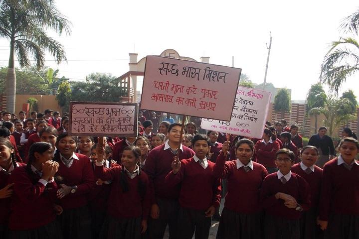 Sewa Samiti Little Angels Convent School-Swachh Bharat Campaign