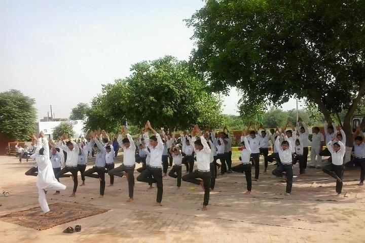 Shaheed Udham Singh Senior Secondary School-Yoga