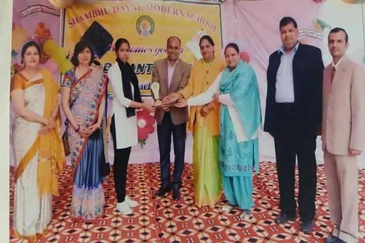 Shambhu Dayal Modern School-Award Presentation