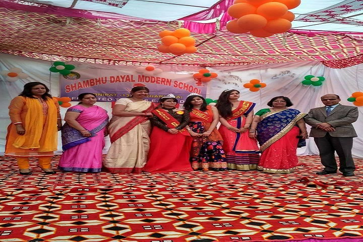 Shambhu Dayal Modern School-Farewell Event