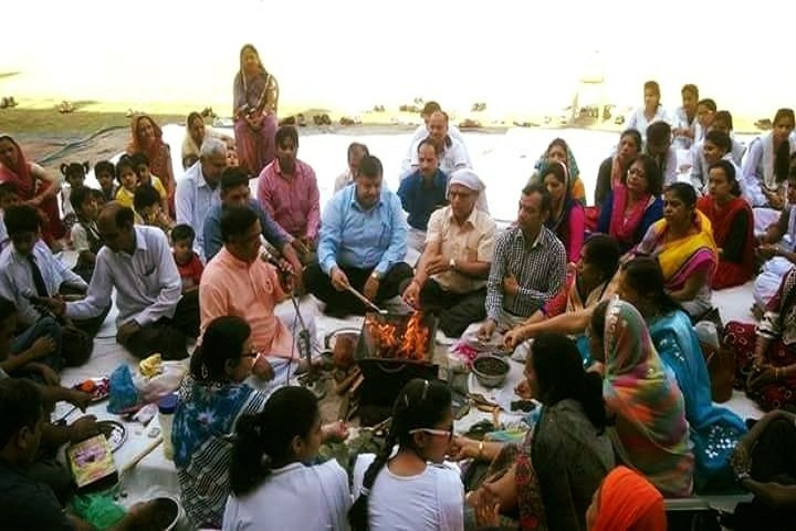 Shambhu Dayal Modern School-Pooja Event