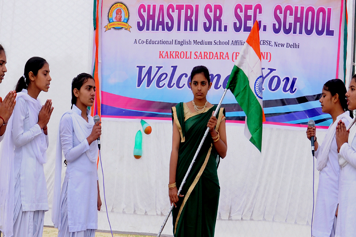 Shastri Senior Secondary School-Welcome-Party