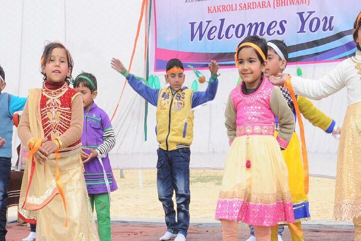 Shastri Senior Secondary School-Dance