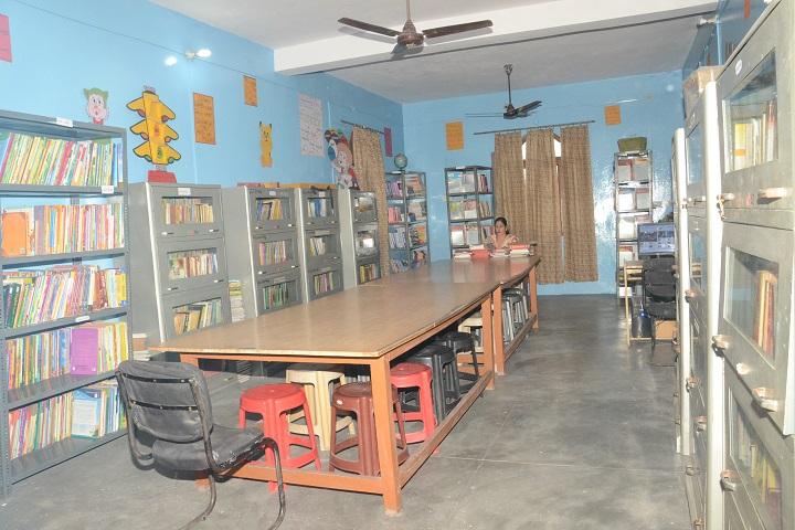 Shaswat Chetna Senior Secondary School-Library