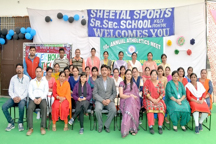 Sheetal Sports Senior Secondary School-Staff