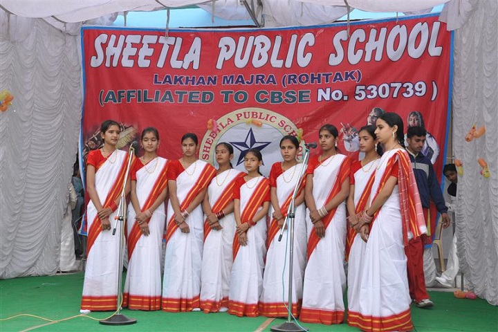 Sheetla Public School-Singing