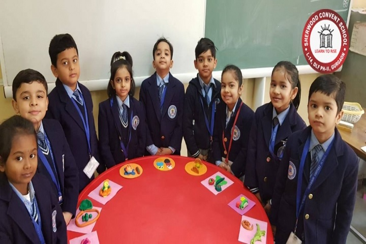 Sherwood Convent School-Clay Modeling Competition
