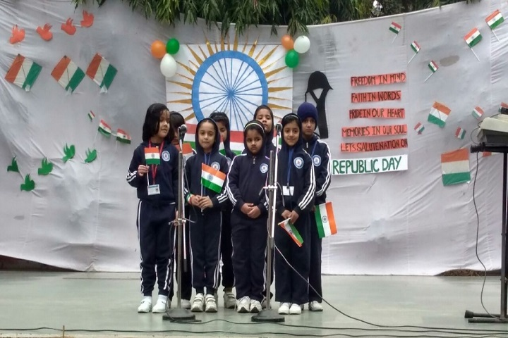 Sherwood Convent School-Republic Day