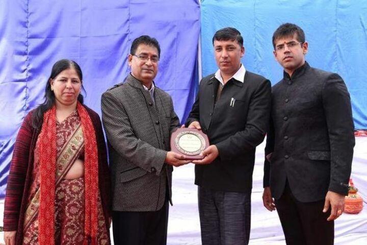 Shiksha Bharti Public School-Award