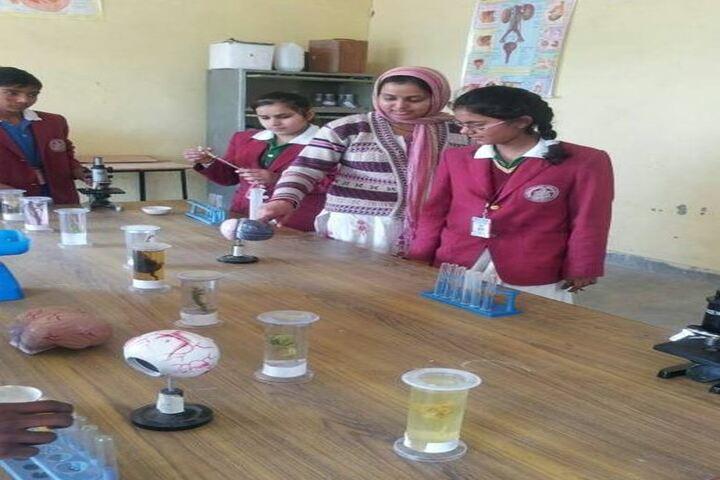Shiksha Bharti Public School-Biology Lab