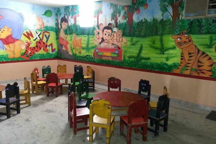 Shiksha Bharti Public School-Kids Classroom