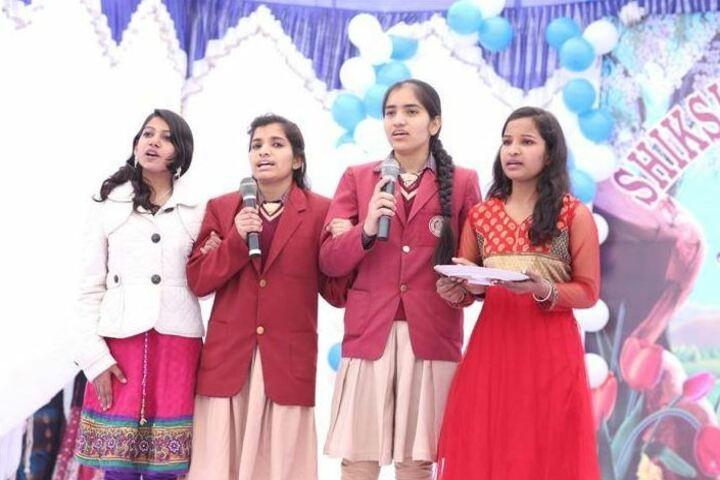 Shiksha Bharti Public School-Singing