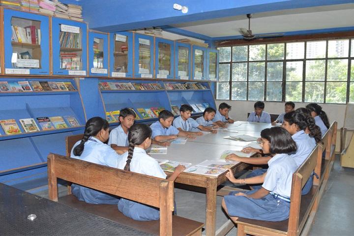 Shiksha Bharti Public School-Library