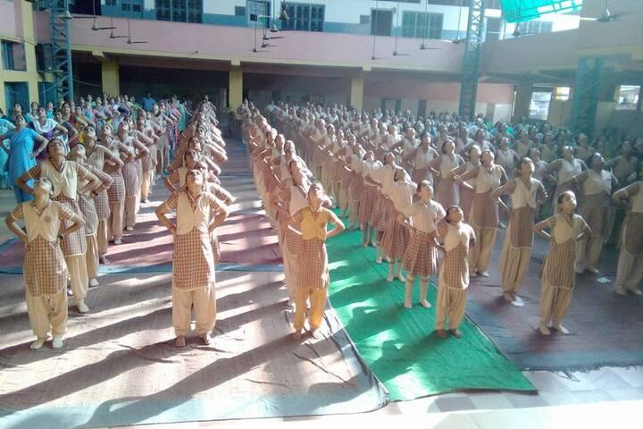 Shiksha Bharti Senior Secondary School-Morning Assembly