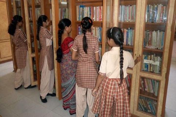Shiksha Bharti Vidyalaya-Library