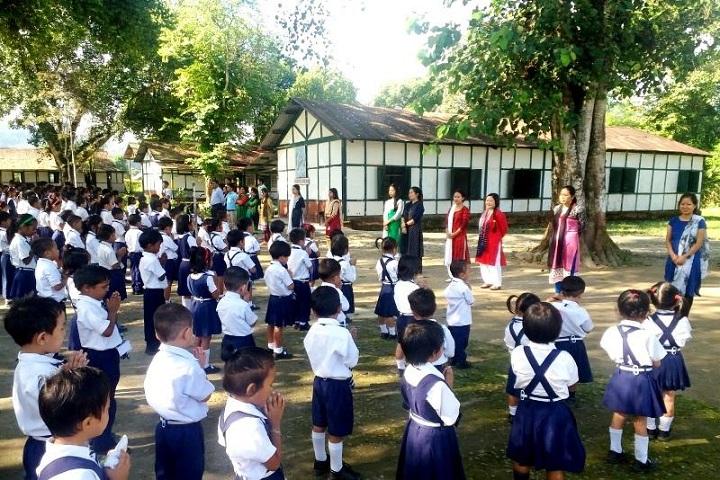 I T B P Public School-Assembly
