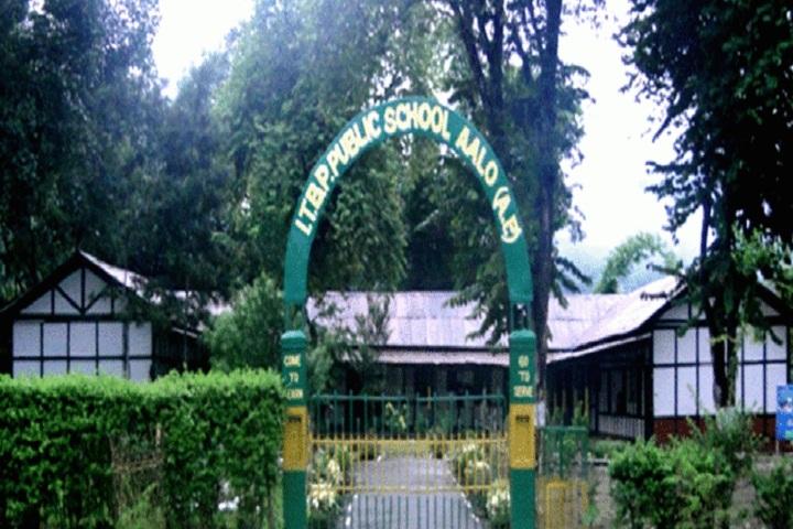 I T B P Public School-School