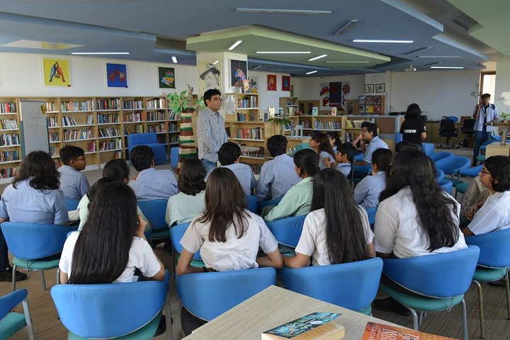 Shiv Nadar School-Library