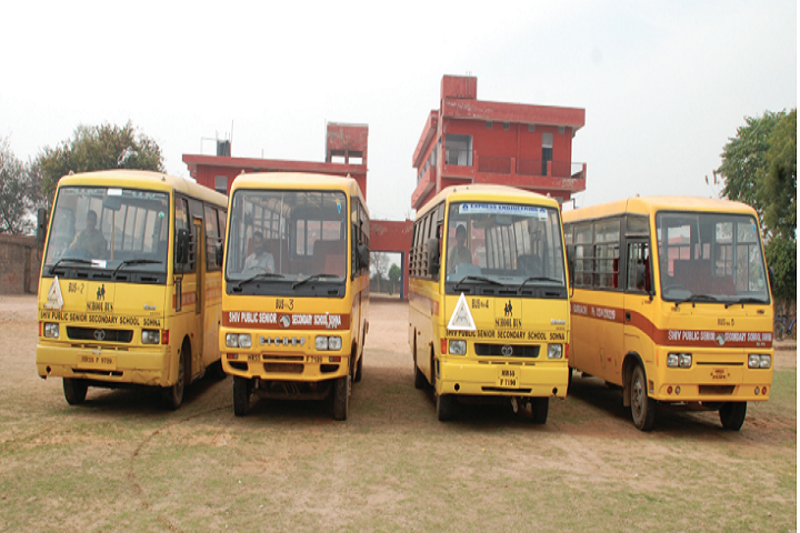 Shiv Public Senior Secondary School-Transport