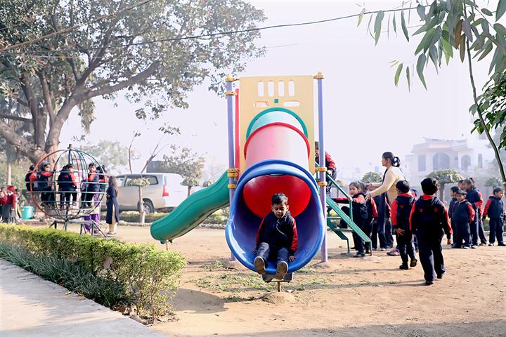 Shiv Shakti Luxmi Memorial High School-Play Area