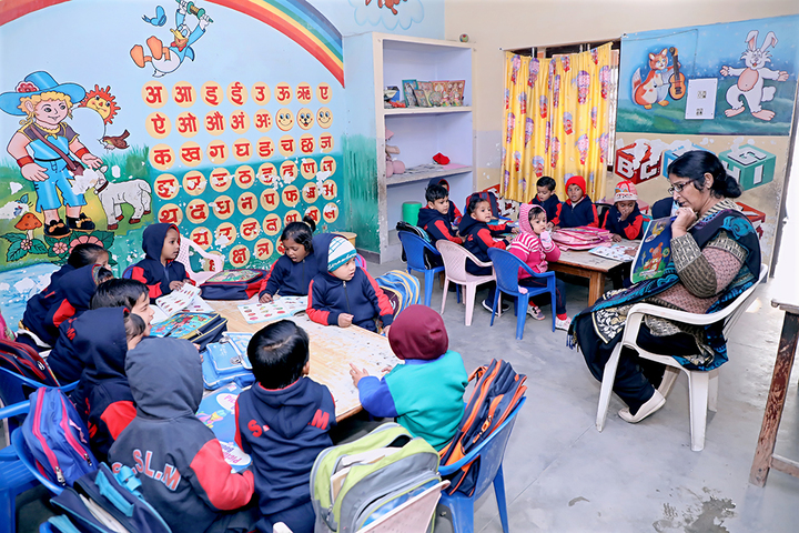 Shiv Shakti Luxmi Memorial High School-Primary Class Room