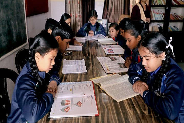Shiv Shakti Luxmi Memorial High School-Library