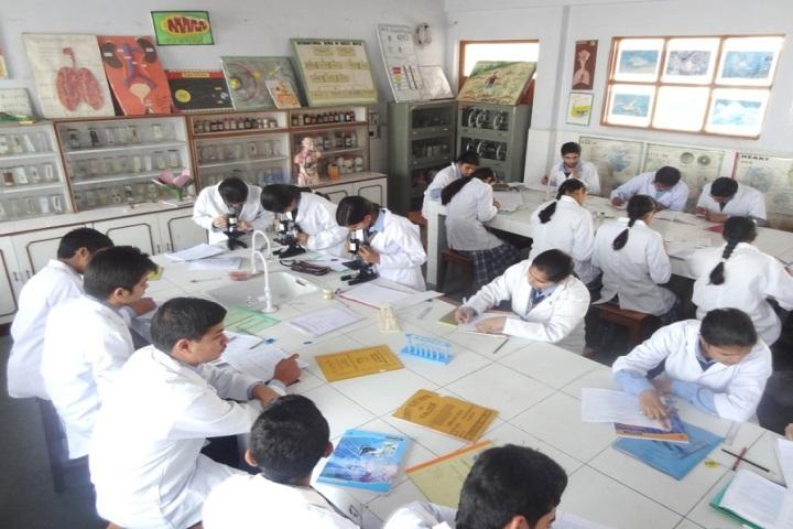 Shree Kali Devi Vidya Mandir-Biology Lab