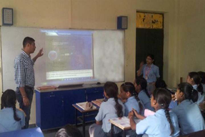 Shree Krishna Pranami Public School-Smart Class