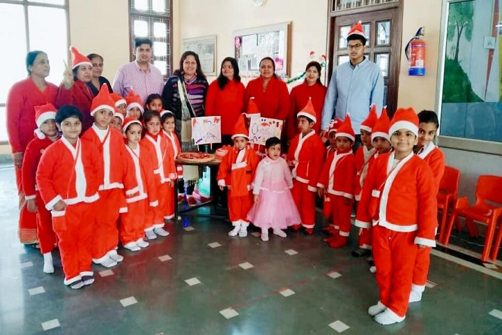 Shree Ram Ideal School-Christmas Celebrations